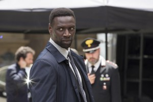 "Omar Sy in Columbia Pictures'""Inferno,"" starring Tom Hanks and Felicity Jones."